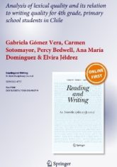 Analysis of lexical quality and its relation to writing quality for 4th grade, primary school students in Chile